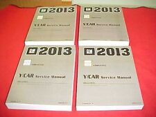2013 ORIGINAL NEW CORVETTE SERVICE SHOP MANUAL VETTE REPAIR 13 + WIRING DIAGRAMS