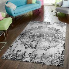 Teppich Modern Preiswert Wohnzimmer Teppiche Shabby Chic Vintage Schwarz Weiß