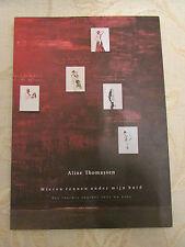 Collectable Book Of Mieren Rennen Onder Mijn Huid, By Aline Thomassen - 1999