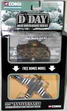 CORGI Lot WWII Utah Beach #1 Sherman Tank C-47 Dakota D-Day Collection diecast