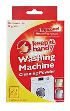 WASHING MACHINE CLEANING POWDER EFFECTIVE AND HYGIENE REMOVES DIRT AND GRIME