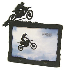 """Motocross Picture Frame 3.5""""x5"""" - 3""""x5"""" H Motorcycle"""