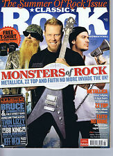 METALLICA / ZZ TOP / FAITH NO MOREClassic RockNo.133July2009