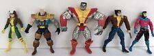 Vintage 90's Toybiz Marvel X-Men 5 Loose Action Figure Bundle