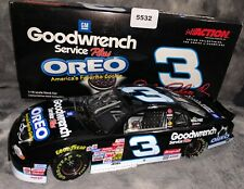 2002 Dale Earnhardt #3 Oreo/ Goodwrench Service 1:18 Action RARE!! (5532)