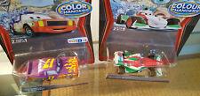 Disney Pixar Cars Bundle 2 Colour Changer DARREL CARTRIP & FRANCESCO  FORMULA1