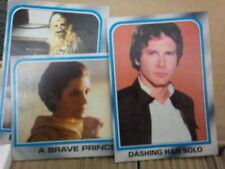 1980 Star Wars Empire Strikes Back Collector Trading Cards 300 Count Nice Shape