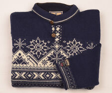 DALE OF NORWAY Ski Jumper Mens M Norwegian Wool Sweater Fisherman Fair Isle RARE