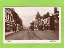 High Street Oldham Tram RP pc used Lilywhite Ref F119