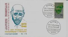 "BRD FDC MiNr 973 (2) ""100. Geburtstag von Dr. Janusz Korczak"" -Arzt-Medizin-"