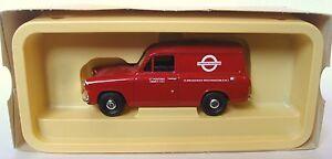 1:43 Scale Vanguards VA4007 Ford Anglia Van - London Transport - MIB