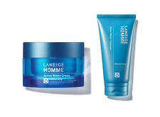 LANEIGE Homme Active Water Cream 50ml Active Water Cleanser 150ml for Men Skin