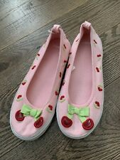 Nwot Gymboree Cherry Cute Tennis Pink  Shoes Size 2