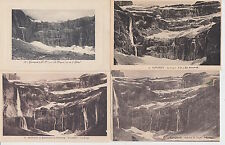 Lot 4 cartes postales anciennes GAVARNIE le cirque 3