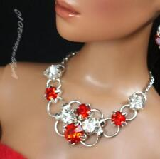 """Rhinestone Necklace and Earring Jewelry Set for 16"""" Tonner Tyler 090B"""