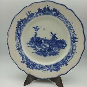 Royal Doulton Blue And White Norfolk D6294 Salad Plate 21.5 cm
