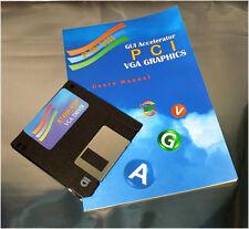 ET4000 / W32P VGA Driver Disc - Floppy w/ VGA User's Manual fo PCI-48