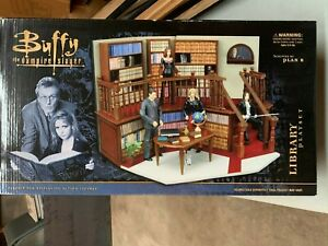 Buffy the Vampire Slayer Vintage Sunnydale High Library Action Figure Play Set (