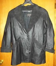 Wilson's Thinsulate (Women's) Black Leather Coat size M