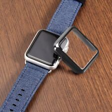 For Apple Watch Series 3 Ultra Slim Plated Case with Built-in Screen Protector
