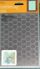 "Cricut Cuttlebug HONEYCOMB  5"" X 7"" Embossing Folder NEW"