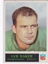1965 PHILADELPHIA FOOTBALL SAM BAKER #128 EAGLES VGEX *60396