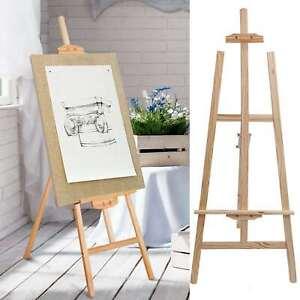 Staffelei Holz groß Kinder Leinwand Ständer mal stativ für Maler Hochzeit 1.5M