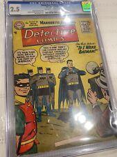 Detective Comics #225 CGC 2.5 OW/W 1955 1st J'onn J'onzz (Martian Manhunter)