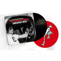 The White Stripes Greatest Hits Exclusive Limited Edition Vinyl LP w/ Slip Mat