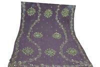 Vintage Dupatta Long Scarf Hijab bridal beaded sequin work all over Veil Stole