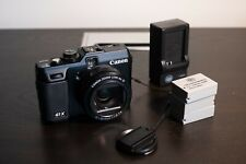 Canon Powershot G1X 14.3MP Digital Camera with three batteries and charger
