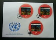 United Nation UnAIDS Awareness 2002 AIDS (miniature FDC) *clean *odd *unusual
