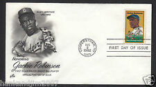Jackie Robinson 1982 Usps First Day Issue Envelope 20cent Commemorative Stamp