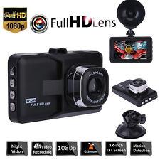 "3"" 1080P HD Autokamera Vehicle Dash Cam DVR Video Camcorder Nachtsicht G Sensor"