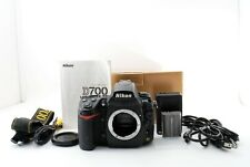 Nikon D700 12.1MP Digital SLR Camera - Black (Body Only) Excellent From Japan