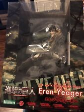 Kotobukiya Attack On Titan Eren Yeager Artfxj Statue New In Stock