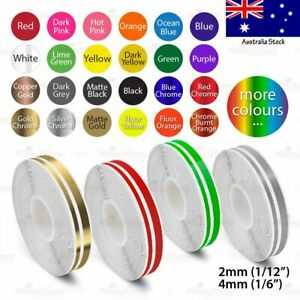 """1/2"""" Vinyl Pinstriping PinStripe Car DIY Styling Double Tape Decal Sticker 12mm"""