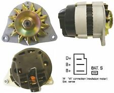 Brand Alternator Fits For Ford Tractor with 50A Single V Rib Pulley 1975-1988