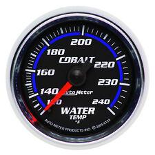 Autometer 6132 Cobalt Water Temperature Gauge, 2-1/16 in., Mechanical