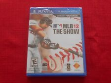 MLB 12:  THE SHOW PSVITA FACTORY SEALED!!!  L@@K!!!  FAST SHIP!!!!!