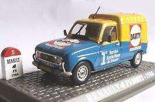 Renault 4 *  F6 Darty 1986  * 1:43 * Vitrine mit Kratzer _