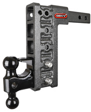 """Gen-Y Gh-525 16,000 Lb 10"""" Drop/Raise Hitch 2"""" Receiver, Dual Ball, and pintle"""