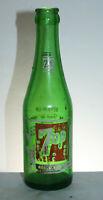 Augusta GA Seven - Up 7 Up Soda Pop Bottle 7 oz Girl in Swimsuit