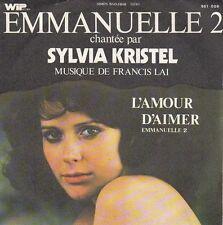 disco 45 GIRI Sylvia KRISTEL EMMANUELLE L'ANTIVIERGE - L'AMOUR D'AIMER