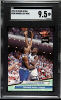 1992-93 Fleer Ultra Shaquille O'Neal #328 Rookie SGC 9.5 Mint +