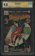 SPIDER WOMAN  1 CGC 9.8 4/78 NEW ORIGIN OF SPIDER WOMAN SS JOE SINNOTT NEWSSTAND