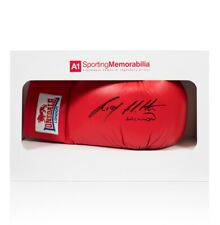 Ricky Hatton Signed Boxing Glove - Red Lonsdale - Gift Box Autograph