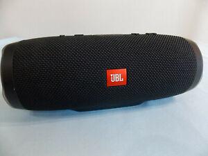 JBL Waterproof Bluetooth Wireless Portable Speaker CHARGE 3 Black LIGHT USED