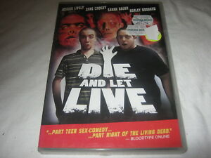 Die and Let Live - Joshua Lively - VERY RARE - DVD - Region 1