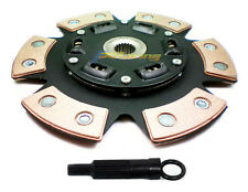 FX 6-PUCK STAGE 3 RACE CLUTCH DISC+FREE ALIGN TOOL 215mm fits HYUNDAI MITSUBISHI